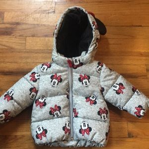 Baby Girl Minnie Mouse Coat